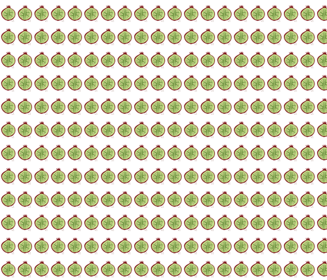 GCY-Pomegranate fabric by runner_gurl on Spoonflower - custom fabric