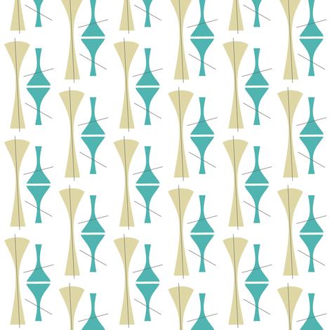 Mid-C cocktail fabric by brainsarepretty on Spoonflower - custom fabric