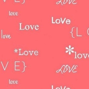 All you need is love // pink