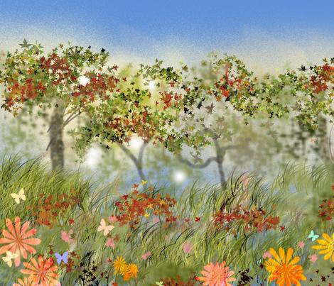 autumn fabric by alexandra_calhoun on Spoonflower - custom fabric