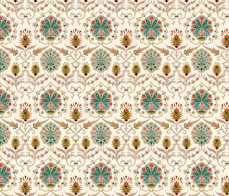 persianish fabric by hannafate on Spoonflower - custom fabric