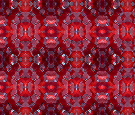 Pomegranate Seeds fabric by tulsa_gal on Spoonflower - custom fabric