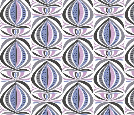 moon_mirror fabric by antoniamanda on Spoonflower - custom fabric