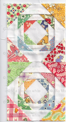 JUST SEW AND HAVE A BABY QUILT PRETTY