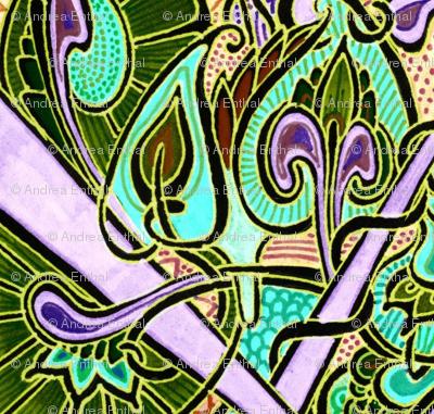 Nouveau Deco Kaleidoscope Psychedelicatessen