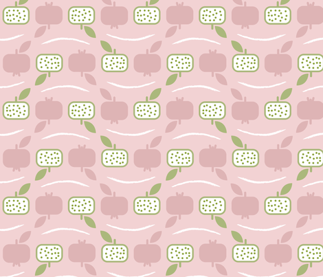 Pomegranate fabric by happy_to_see on Spoonflower - custom fabric