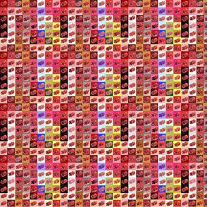 Pom-pom Pomegranate Quilt