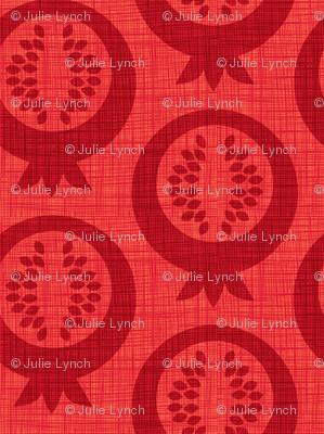 pomegranate silhouette