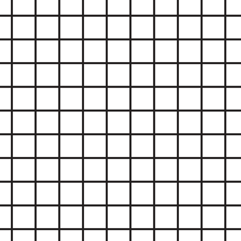 Square grid fabric by kimsa on Spoonflower - custom fabric