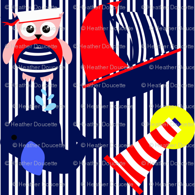 Nautical Adventure Stripes