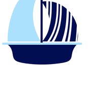 Light Blue Navy Sail Boat