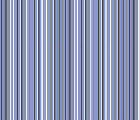 moonlight_stripe_blue fabric by antoniamanda on Spoonflower - custom fabric