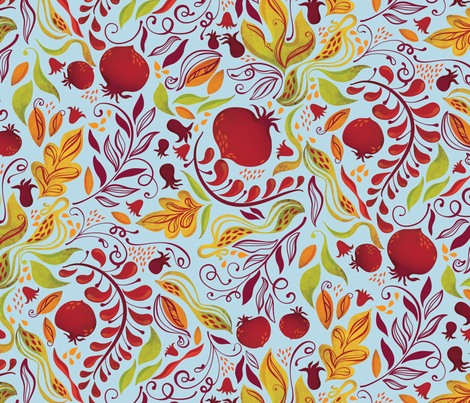 APomHarvest1PRINT fabric by andi_butler on Spoonflower - custom fabric