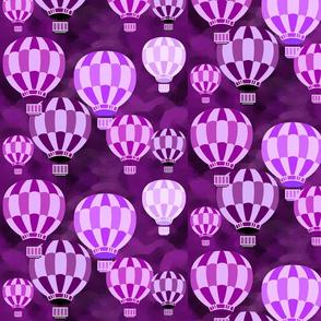 PURPLE PASSION BALLOONS
