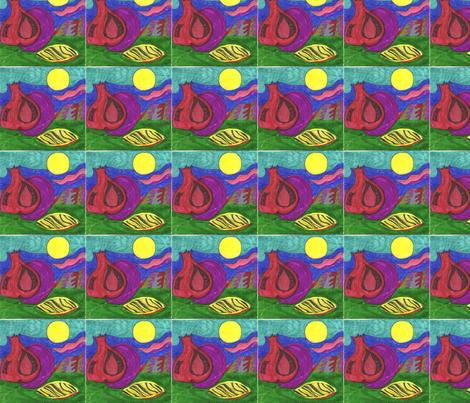 Seed_apple_fruit fabric by purple_robin on Spoonflower - custom fabric