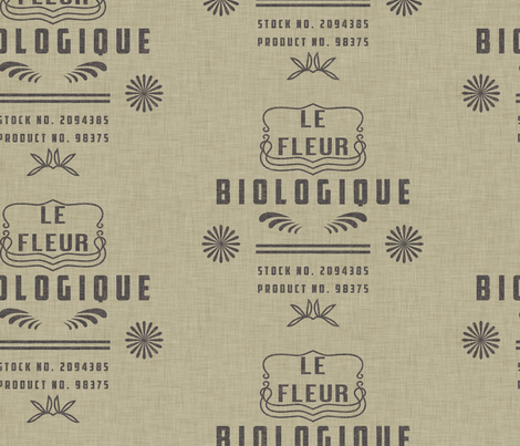 le_fleur_biologique fabric by holli_zollinger on Spoonflower - custom fabric