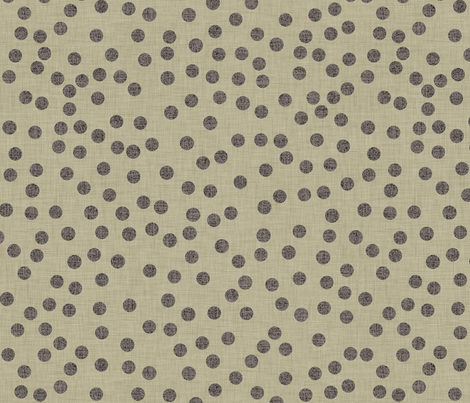 burlap_dots fabric by holli_zollinger on Spoonflower - custom fabric