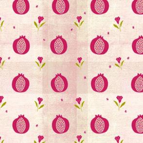 Frenchy pomegranates