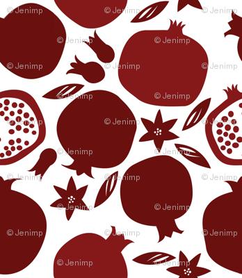 Lively Pomegranates
