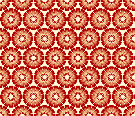 pomegranate aril 12 fabric by sef on Spoonflower - custom fabric