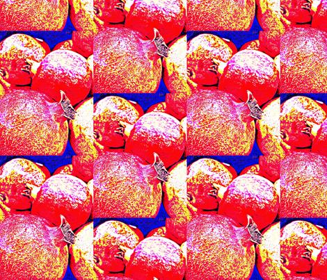 Anardana, The Prospering Pomegranate fabric by dovetail_designs on Spoonflower - custom fabric