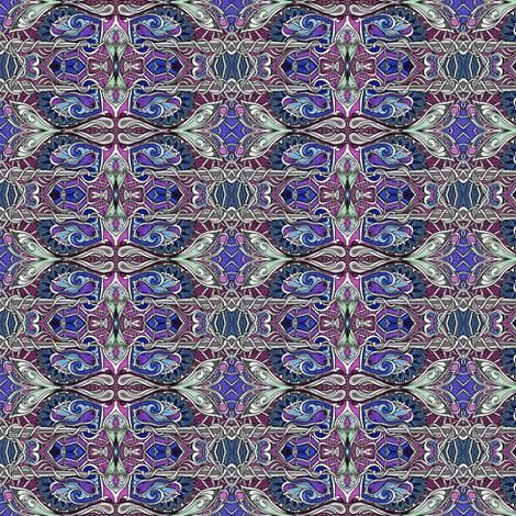 At Midnight the Sky Goes Gothic fabric by edsel2084 on Spoonflower - custom fabric