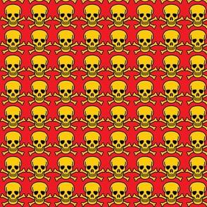 Skulls Yellow