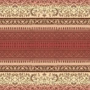 Block print (rusty rose)