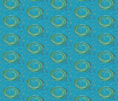 Twirly Bird fabric by susaninparis on Spoonflower - custom fabric