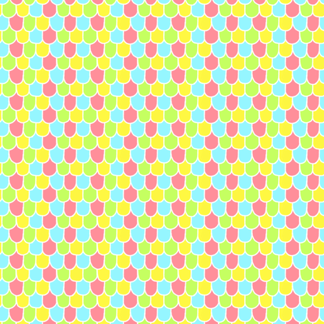 Candy Scales fabric by hugandkiss on Spoonflower - custom fabric