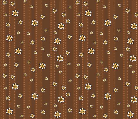 Ladybug Bloom fabric by holladaydesigns on Spoonflower - custom fabric