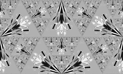 Pretty Light Grey Geometric © Gingezel™ 2012