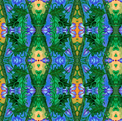 From Mighty Oaks fabric by edsel2084 on Spoonflower - custom fabric
