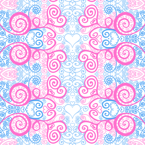 CURLY_large fabric by tallulahdahling on Spoonflower - custom fabric