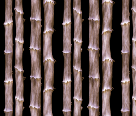 Bamboo 1 fabric by animotaxis on Spoonflower - custom fabric