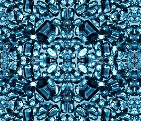 Royal Gems /  London fabric by paragonstudios on Spoonflower - custom fabric