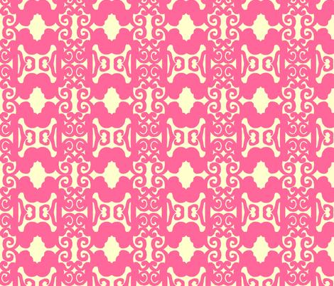 zztrellispink fabric by joybea on Spoonflower - custom fabric