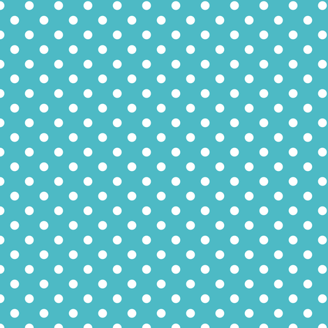 spots - blue teal fabric by fox&lark on Spoonflower - custom fabric