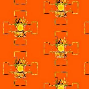 Mandala_On_Orange