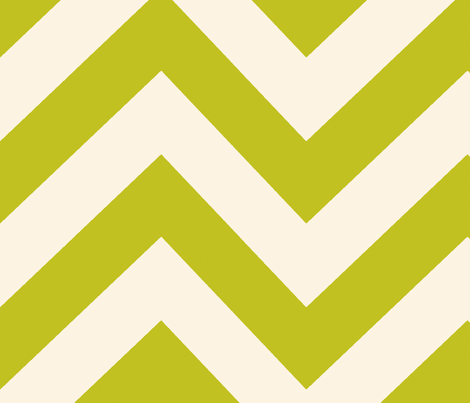 chevrons_large_green fabric by holli_zollinger on Spoonflower - custom fabric