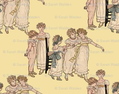 Kate Greenaway Little Dancers