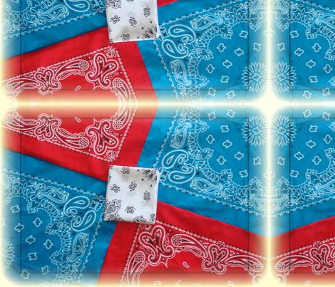 Bandanarama fabric by snickerslynn on Spoonflower - custom fabric