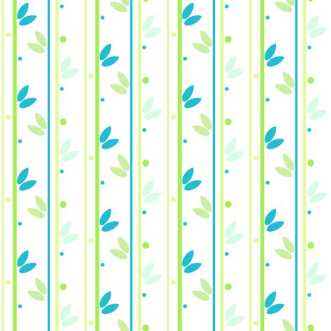 Stems & Dots - A Simple Wish  - © PinkSodaPop 4ComputerHeaven.com fabric by pinksodapop on Spoonflower - custom fabric