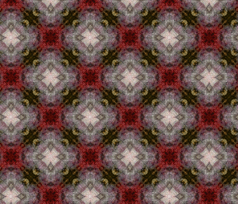 Raspberries and Winter Frost fabric by feebeedee on Spoonflower - custom fabric
