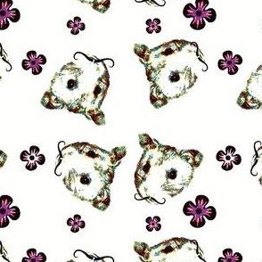 Mustachioed Hamster Multi