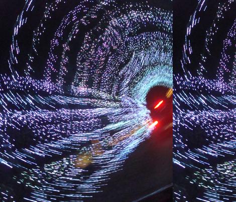 Dancing Lights fabric by snickerslynn on Spoonflower - custom fabric