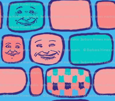 Happy Faces#7: Round Squares