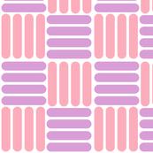 basket - pink purple