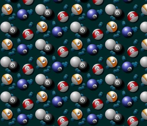 behind the 8 ball fabric by glimmericks on Spoonflower - custom fabric