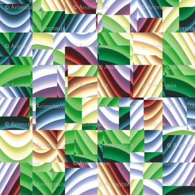 Ribbon Mosaic 6